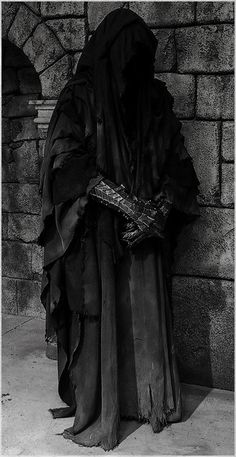 """They were once men; great kings of men. Then Sauron the deceiver gave to them nine rings of power. Blinded by their greed, they took them without question, one by one falling into darkness. Now they are slaves to his will. They are the Nazgul, Ringwraiths, neither living nor dead. At all times they feel the presence of the Ring, drawn to the power of the One."""