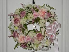 Pretty in Pink by TheVictorianBouquet on Etsy  $74.98  -- what pretty baby girl nursery decor this would make!