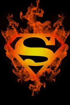 Fire Superboy logo