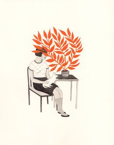 New on ArtisticMoods.com: soft and sweet illustrations by Rachel Levit.