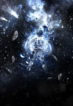 Outer Space Astronaut Photoshop Manipulation Tutorial - 30 Eye-Catching Photoshop Tutorials for Designers