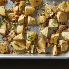 Celery root is a healthy, satisfying alternative to roasted potatoes.