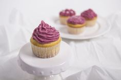 Cupcake Grundrezept & Beerenbuttercreme