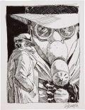 Guy Davis Sandman (Wesley Dodds) Illustration  Original Art (1992)....
