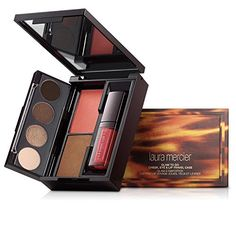 Laura Mercier Glam to Go Cheek Eye and Lip Travel Case * More info could be found at the image url.