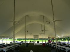 Pole Tents - Event Essentials A to Z Rentall Wedding Tent Corporate Special Event Party Supplies Planning Madison WI