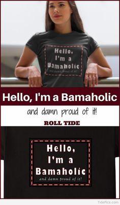 Alabama Crimson Tide - Who else is a BAMA football fan? Alabama Football Pictures, Alabama Football Shirts, Crimson Tide Football, Alabama Crimson Tide, Alabama Baby, Auburn Vs, Game Day Shirts, Dream School, My Face When