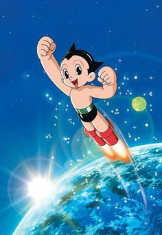 Astro Boy... I was going to marry him when I was 6 :)