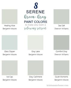Perfect Green-Gray Paint Colors – Kristin Maier Home
