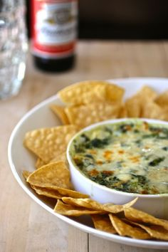 Spinach and Artichoke Dip. -****Really good recipe that is rather easy and virtually foolproof - Brandon