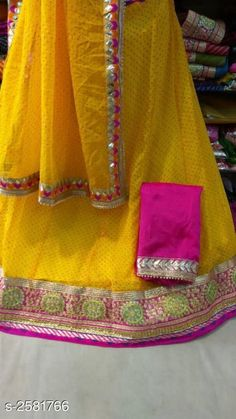 Lehengas Voguish Elegant Georegette Embroidered Lehengas Fabric: Lehenga -  Georegette   Choli - Georegette Dupatta -  Art Silk Size: Lehenga ( Waist Size ) - Up To 40 in Choli - 1 Mtr Dupatta - 2.3 Mtr  Flair - 3.5 Mtr Length: Lehenga - Up To 40 in Type: Lehenga - Semi - Stitched Choli - Un - Sttiched Description: It Has 1 Piece Of Lehanga 1 Piece Of Choli And 1 Piece Of Dupatta   Work : Lehenga - Embroidery Choli - Embroidery Dupatta - Lace Work Country of Origin: India Sizes Available: Un Stitched, Free Size, Semi Stitched *Proof of Safe Delivery! Click to know on Safety Standards of Delivery Partners- https://ltl.sh/y_nZrAV3  Catalog Rating: ★4 (4714)  Catalog Name: Tina Voguish Elegant Georegette Embroidered Lehengas Vol 1 CatalogID_348397 C74-SC1005 Code: 109-2581766-