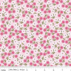cushions for playroom Carina Gardner - Songbird - Garden in Pink