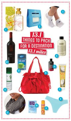 13.1 things to pack for a destination 13.1 miles - blog | lululemon athletica