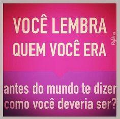 #sejavocê #atitude