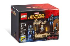 SDCC 2015 : LEGO Marvel Super Heroes Exclusive Set : Throne of Ultron
