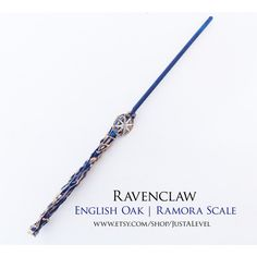 Traveler Harry Potter Inspired Wand (Ravenclaw) ($25) ❤ liked on Polyvore featuring ravenclaw wand and wand