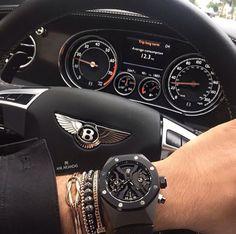 Audemars Piguet and Bentley.