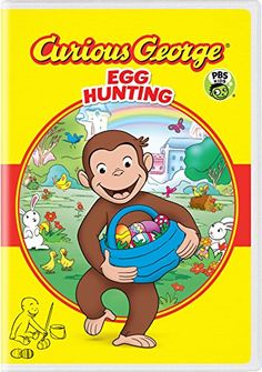 Shop Curious George: Egg Hunting [DVD] at Best Buy. Find low everyday prices and buy online for delivery or in-store pick-up. Amazon Movies, New Movies, Universal Studios, Reading Games For Kids, Nostalgia, Monkey 3, Curious George, New Friendship, Pbs Kids