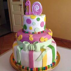 Fluo cake