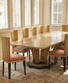 Cranbrook dining table by Eliel Saarinen