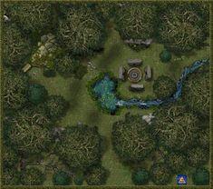 Druid's Grove, Daytime by Bogie-DJ.deviantart.com on @DeviantArt  http://bogie-dj.deviantart.com/gallery/
