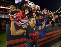Week 4 of the NFL could be Jarryd Hayne's moment to finally record a touchdown ever since his remarkable transition from Australia's rugby league to American football.  http://www.ibtimes.com.au/nfl-news-49ers-rookie-jarryd-haynes-first-touchdown-could-come-against-green-bay-packers-1471651