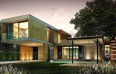 simple modern home,i like it