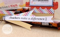 SRM Stickers - Teacher Goodie Bags by Tessa