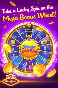 Spin & Win on the Mega Bonus Wheel! Enjoy free surprises daily at Gambino - home of the best Las Vegas slots! Tap the pinned link to get FREE CHIPS & 120 FREE SPINS at Gambino Slots today! Top Online Casinos, Best Online Casino, Online Casino Games, Online Gambling, Doubledown Casino, Live Casino, Spinning Wheel Game, Las Vegas Slots, Free Casino Slot Games