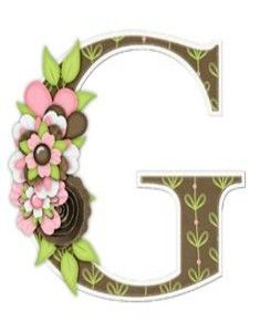 Buchstabe / Letter G