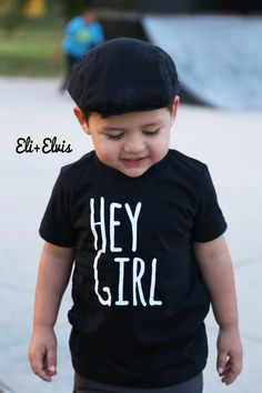 Just Love Black & White Toddler Tshirt Modern by EliandElvis
