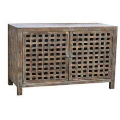 Autumn-Elle Design Unna Wood Cabinet in Rustic Finish c94610v – Kitchenislandking