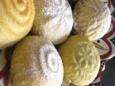Ma'amoul, Filled Cookies from the Middle East (Substitution for rose water: use vanilla or almond extract-less amount and plain water) or try to find rose water at health food stores like Trader Joe's or natural grocers. Rose water is a popular cooking ingredient in Middle Eastern Cooking.