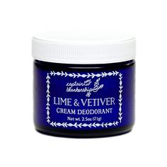 Captain Blankenship  Organic Lime  Vetiver Deodorant *** Details can be found by clicking on the image.
