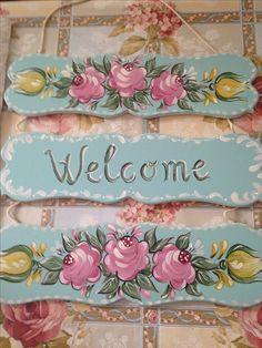 Shabby Chic Crafts, Shabby Chic Cottage, Vintage Shabby Chic, Shabby Chic Style, Shabby Chic Decor, Vintage Decor, Decor Retro, Shabby Chic Furniture, Painted Furniture