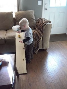 i'm going to make it (after all): 100 (Attempted) Ways to Entertain a Young Toddler, Day Car Ramp Young Toddler Activities, Toddler Fun, Toddler Crafts, Activities For Kids, Craft Projects For Kids, Diy For Kids, Car Ramp, Everything Baby, Kids Corner