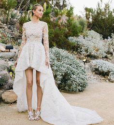 FOTO! Dit is de trouwjurk van Whitney Port | ELLE