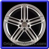 Audi A3 2013 Wheels & Rims Hollander #58860 #Audi #A3 #AudiA3 #2013 #Wheels #Rims #Stock #Factory #Original #OEM #OE #Steel #Alloy #Used