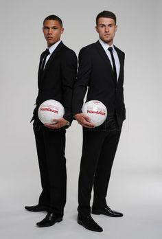 Gibbs & Ramsey Promote The Arsenal Foundation.