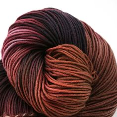 Beautiful enough to eat Superwash Merino Hand Painted worsted weight 240 yds Theodora's Hem