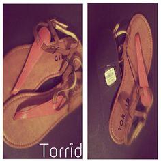 *PRICE FIRM* Ladies fashion sandals Ankle straps torrid Shoes Sandals