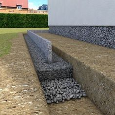 Set curbs and curbs Plan your project quickly and easily onlin … Modern is part of Diy garden projects Kantensteine und Randsteine setzen Plane Dein Projekt schnell und einfach onlin Set curbs - Garden Edging, Garden Paths, Stone Edging, Gabion Wall, Diy Garden Projects, Backyard Landscaping, Landscaping Ideas, Outdoor Spaces, My House