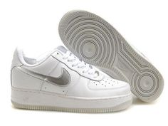 Nike Air Force 1 Basse Navy Léger Bleu Chaussure pour Homme Air Force One Rouge