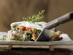 Auberginen-Lasagne - mit Blattspinat und Tomaten - smarter - Kalorien: 537 Kcal - Zeit: 1 Std.  | eatsmarter.de Aubergine-Lasagne ... köstlich!