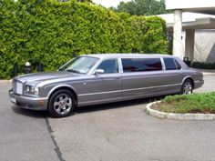 Four-door stretched limousine!