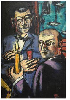 Beckmann: Double Portrait