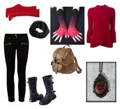 """Gravity Falls OC Adria #2."" by sage-steward on Polyvore featuring Emporio Armani, Paige Denim, Hue, H&M, Mossimo Supply Co., women's clothing, women, female, woman and misses"