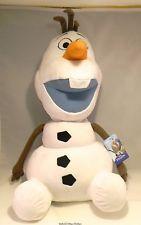 """Disney Olaf Plush 24"""" Large NWT"""
