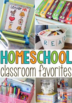 When you are homeschooling there are bound to be some items in your classroom you can't do without. I have a few homeschool classroom favorites that my kiddos and I use most often. Homeschool Classroom Favorites  - Mrs. Jones' Creation Station  #Homeschool #ClassroomResources
