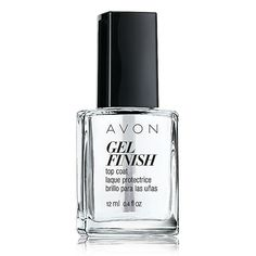 Extend the life of your manicure! Glide over nail color to boost shine and gloss. Gel Finish Top Coat, Regularly, $7.00. Shop Avon Cosmetics online with Marie Ontiveros @ www.youravon.com/mtalonzosbeautifullife